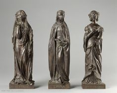 Beatrice, Laura and Vittoria Colonna - (Conflans, 1804 - Paris, 1874) sculptor Henri de Triqueti.