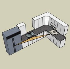 find this pin and more on kitchen design ideas by jennahomedecor - Kitchen Layout Design Ideas