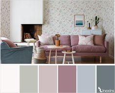 Creando calma en un espacio: 10 paletas de color que te ayudarán