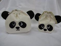 簡単!親子パンダの巾着袋の作り方 ソーイング 編み物・手芸・ソーイング ハンドメイド・手芸レシピならアトリエ
