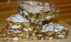 papo vegano - Panforte (gluten free)