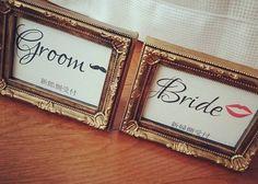 \Bride or Groom?/インスタで見つけた*DIYの参考にしたい《受付サイン》アイデア13選*のトップ画像