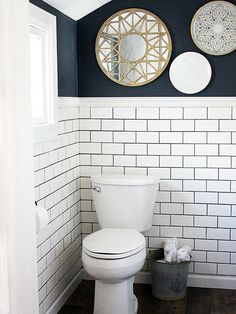 Picture Gallery Website Masculine Color Tones small bathrooms Pinterest Toilets Wood boxes and The modern