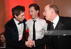 ニュース写真 : Actors Eddie Redmayne, Benedict Cumberbatch, and...