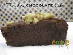 Paleo Flourless Chocolate Cake (4 ingredients)**