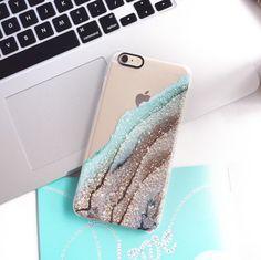 FLAWLESS AQUA FAUX GOLD by Monika Strigel iPhone 6 plus Galaxy Note 5 case by Monika Strigel   Casetify $39