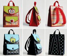 Paper backpacks