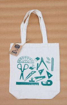 minne(ミンネ)| ☆サマーセール・送料無料☆文具A4トート〈緑〉 cute bag!please check out our website,,http://bax.fi