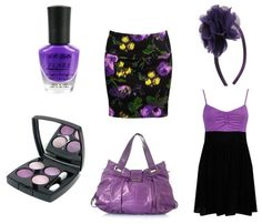 There is always time for pruple: http://www.collegefashion.net/fashion-tips/colors-and-mood-how-the-colors-you-wear-affect-you/