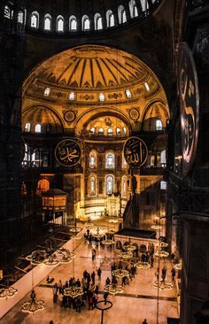 Hagia Sophia Museum - Istanbul, Turkey