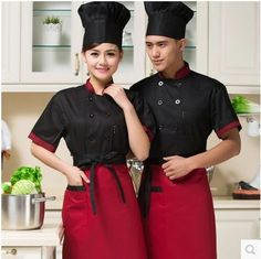 uniforme chef - Buscar con Google Carnicerias Ideas, Hotel Uniform, Restaurant Uniforms, Sushi Chef, Kids Dress Up, Chinese Restaurant, Cafe Design, Work Wear, Halloween Party