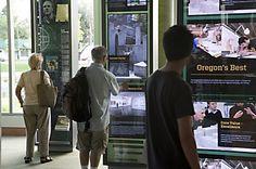 University of Oregon Ford Alumni Center interactives