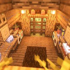 Minecraft Mansion, Minecraft Cottage, Easy Minecraft Houses, Minecraft Room, Minecraft Plans, Minecraft House Designs, Minecraft Decorations, Amazing Minecraft, Minecraft Blueprints
