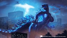 The artist should really be using their talents for something other than Furry Godzilla Female Monster, Fantasy Monster, Thicc Anime, Anime Furry, Monster Concept Art, Monster Art, Godzilla Comics, Monster Girl Encyclopedia, Godzilla Wallpaper