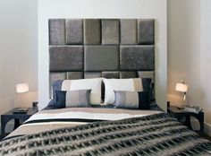Looking for DIY Headboard Ideas? There are many affordable ways to develop a special distinctive headboard. We share a few fantastic DIY headboard ideas, to motivate you to style your bedroom elegant or rustic, whichever you prefer. Brown Headboard, Headboard From Old Door, Pillow Headboard, Diy Home Decor Bedroom, Small Room Bedroom, Bedroom Ideas, Dream Bedroom, Bed Room, Beach Cottages