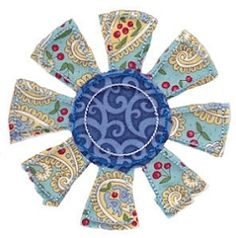 Raggedy Flower Applique 13 - 2 Sizes! | Floral - Flowers | Machine Embroidery Designs | SWAKembroidery.com