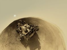 Awesome! A 360-Degree 'Street View' From Mars!