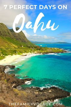 Check out our complete Oahu itinerary for 7 days - Honolulu, Waikiki, North Shore, Windward Coast and more! Includes an optional Oahu itinerary for 3 days. Hawaii Vacation, Oahu Hawaii, Beach Trip, Zanzibar Beaches, Oahu Beaches, Hawaii Travel Guide, Travel Tips, Travel Ideas, Travel Destinations Beach