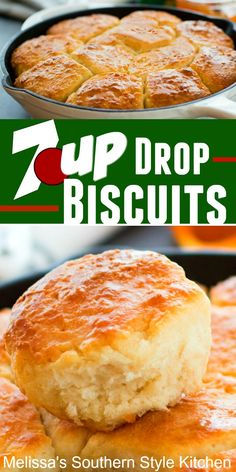 No rolling and cutting is required to make these buttery Drop Biscuits Bread Machine Recipes, Bread Recipes, Baking Recipes, Cod Recipes, Spinach Recipes, Turkey Recipes, Crockpot Recipes, Buttery Biscuits, Buttermilk Biscuits