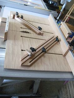Table Saw Super Sled - by marksalot2005 @ LumberJocks.com ~ woodworking community
