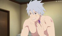 Kakashi sem máscara!!!!! Que lindo