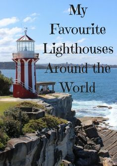 I don't know what it is about lighthouses that make them so intriguing and beautiful to me. It could be that there weren't any where I grew up. Maybe I was a lighthouse keeper in a past life. I don't know why, but I like them a lot. The best lighthouses t