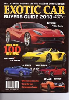 This is hot DuPont Registry � Exotic Car Buyers Guide Magazine. � Library User Group