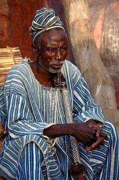 Africa | Mossi elder.  Burkina Faso | ©Dan Heller