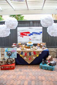 Airplane theme party