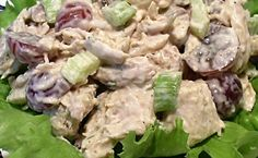 CHICKEN SALAD WITH GRAPES - Linda's Low Carb Journal & Recipes