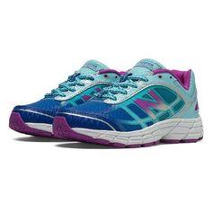 0c35c90d587 New Balance Blue Purple Sneakers Girls Shoes