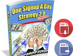 See how I get daily signups to the business I promote.