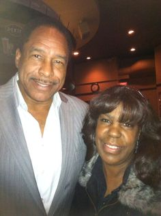 My mom lean and our cousin Dave Winfield.