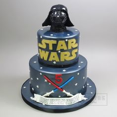 Star Wars with Darth Vader Topper - Empire Cake