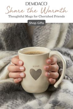 Cozy Self Care Gifts Holding a hot beverage in both hands is a ritual of calm. Cozy Self Care Gifts Holding a hot beverage in both hands is a ritual of calm. It gives one time t Be My Valentine, Valentine Day Gifts, Holiday Gifts, Valentine Ideas, Cute Gifts, Diy Gifts, Great Gifts, Gifts For Dad, Gifts For Friends