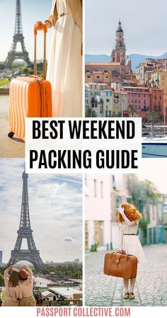 Hooray to being able to enjoy a weekend away! Pack smart for your weekend trip with our handy travel guide. Whether by road or rail, we'll have you packing smart, packing light and prepared for all occasions. #packing #travel #travelguide Smart Packing, Packing List For Travel, Cruise Travel, Packing Tips, Travel Uk, Travel England, Travelling Tips, Asia Travel, City Break Packing