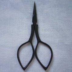 black DEVON scissors for knitting cross stitch by needlegoods, $12.00