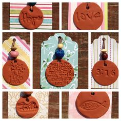 Faith Aromatherapy Terra cotta Clay oil diffusing by OdeToSoy