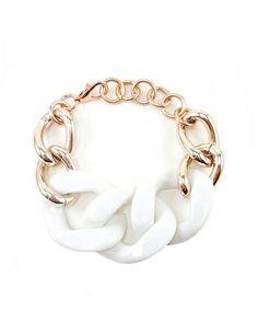 White Vogue Bracelet