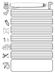 Υλικό για δημιουργία λεξικού από τους μαθητές της Γ΄ τάξης (ασπρόμαυρ…