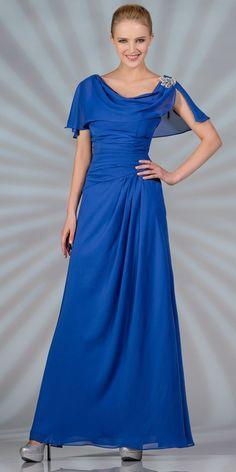Sale! Royal Blue Formal Dress for only $39.99 - Medium Size #discountdressshop #formaldress #royalblue #saledress #weddings #formalwear #partydress