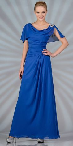 Sale! Royal Blue Formal Dress for only $39.99 - Medium Size #discountdressshop #formaldress #royalblue #saledress #weddings #formalwear #partydress