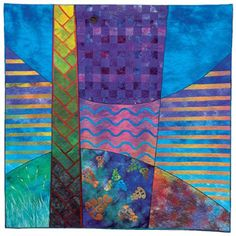 'Ataahua Hokianga' by Mieke Apps (New Zealand) as seen at NZ Quilter