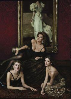 Sophia, Penelope & Chole-Annie Leibovitz