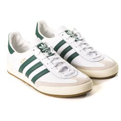 Adidas Jeans in White   Green   Core Brown - perfect for the last few summer  months 86abe79d4