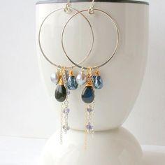 Hey, I found this really awesome Etsy listing at https://www.etsy.com/listing/576766138/midnight-gemstone-hoops-multi-gemstone