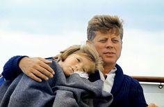 JFK with Caroline..