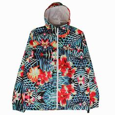 KIX & LIDZ: Vandal The Jungle Palms Windbreaker...Here is The Jungle Palms Windbreaker by Vandal. The windbreaker is in the Floral Pattern & Multi Colors, made of 100% Polyester and made in China. You can purchase this windbreaker online at Cranium Fitteds and other Vandal retailers.