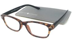 Gabriel + Simone Reading Glasses - Metro Tortoise and Black / Tortoise front Black Temples +2.25 by Gabriel + Simone. $17.99. Bridge: 12mm. Lens width: 49mm. Frame Material: Plastic. Arm: 140mm. Lens Material: Plastic. Gabriel + Simone Metro Tortoise and Black is a light-weight, plastic reader inspired by the classic Wayfarer. The Metro features spring hinges for maximum comfort. The Aspheric Polycarbonate lenses are ultra-thin and scratch-impact resistant, providing...
