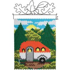 Herrschners® Camper in the Woods Beaded Banner Kit Was: $23.99                     Now: $19.99